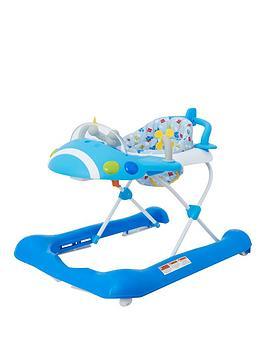 mothercare-plane-walker-blue