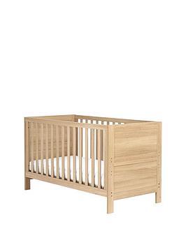 mothercare-stretton-cot-bed-oak