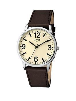 limit-cream-dial-brown-leather-strap-mens-wath