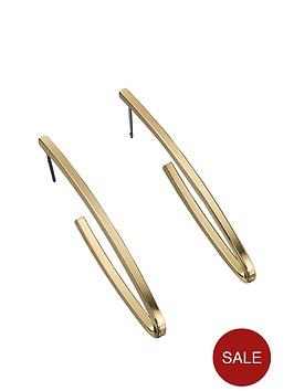 fiorelli-gold-tone-flat-hoop-earrings
