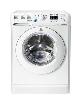 Indesit Bwa81683Xw 8Kg Load, 1600 Spin Washing Machine - White Best Price, Cheapest Prices