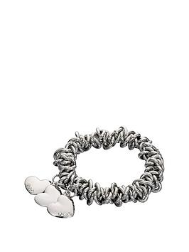 fiorelli-silver-tone-scrunchienbspstyle-bracelet-with-heart-charms