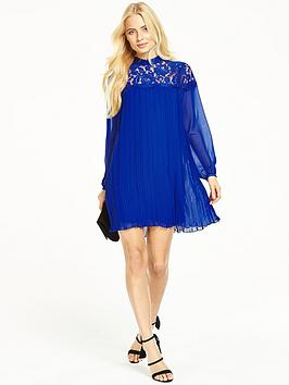 v-by-very-lace-pleated-tunic-dress