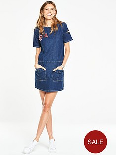 v-by-very-badge-tunic-denim-dress