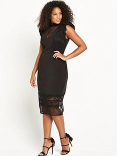 lost-ink-curve-pencil-dress-with-eyelash-trim