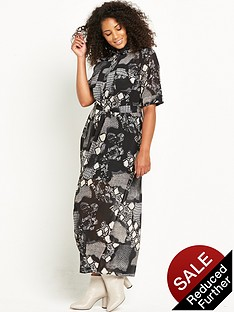 lost-ink-curve-animal-print-shirt-dress