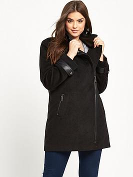 lost-ink-curve-pu-panel-coat