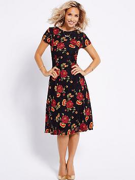 myleene-klass-rose-detail-lace-dress