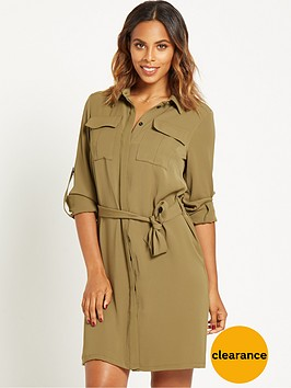 rochelle-humes-utility-shirt-dress