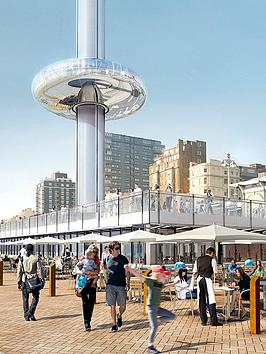 virgin-experience-days-visit-to-the-british-airways-i360nbspin-brighton-with-three-course-meal-and-wine-for-two-at-cafeacute-rouge