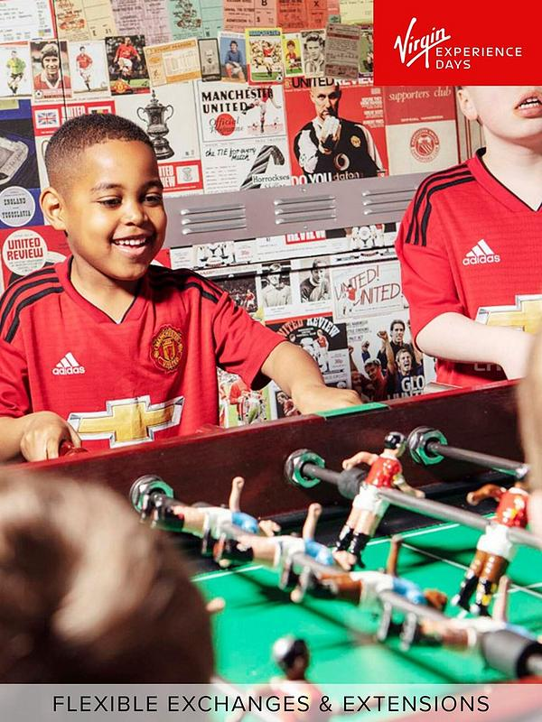 Virgin Experience Days Manchester United Club Stadium Tour With Meal In The Red Cafe For One Adult And One Child Very Co Uk