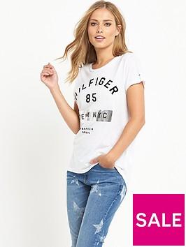 hilfiger-denim-t-shirt-classic-white