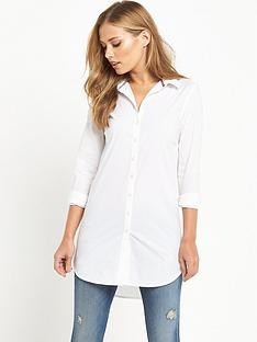 hilfiger-denim-stretch-cotton-shirt-classic-white