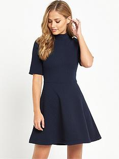 hilfiger-denim-knit-dress-navy