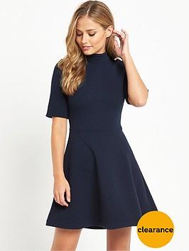 hilfiger-denim-knit-dress-navy