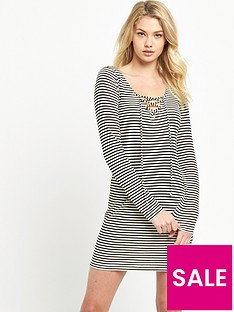 denim-supply-ralph-lauren-stripe-t-shirt-dress-creampolo-black
