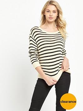 denim-supply-ralph-lauren-stripe-knit-creamblack