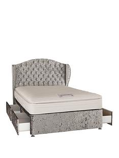 luxe-collection-from-airsprung-marilyn-1000-pocket-pillow-top-divan-bed-with-headboard-and-optional-storage
