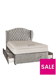 luxe-collection-from-airsprung-marilyn-1000-pocket-pillow-top-divan-with-storage-options-includes-headboard