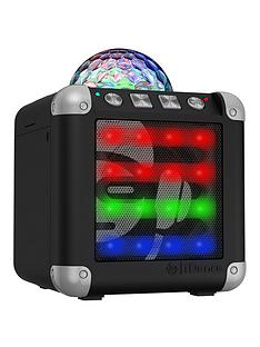 easy-karaoke-idance-cm3-cude-mini-3-bluetooth-party-system-with-built-in-light-show--black