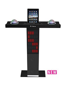 i-dance-party-station-xd-300-bluetoith-karaoke-system-with-built-in-light-show