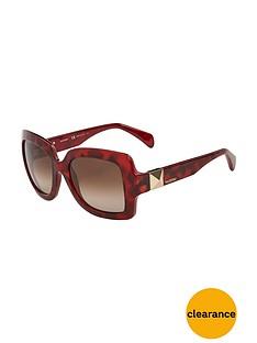 valentino-oversized-rockstud-sunglasses-red