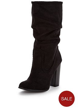 v-by-very-casey-block-heel-plaited-slouch-boot-black