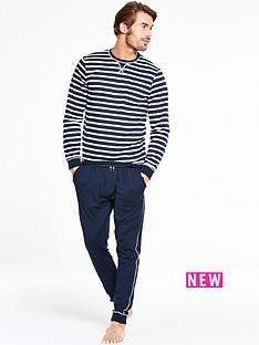 v-by-very-long-sleeve-jersey-stripe-pj-set