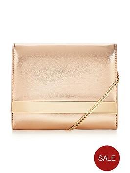 v-by-very-mini-shoulder-chain-metallic-clutch-bag