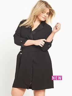 ri-plus-ri-plus-black-tuxedo-wrap-dress