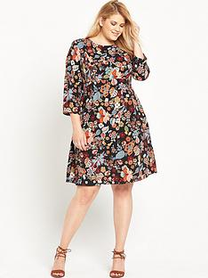 ri-plus-floral-printed-midi-dress