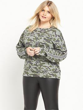 ri-plus-camo-stripe-sweat-top