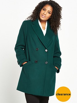 v-by-very-curve-double-breasted-formal-coat-green