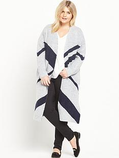 ri-plus-oversized-printed-cardigan