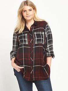 ri-plus-multi-check-shirt-red