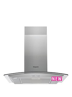 hotpoint-phgc75fabx-70cm-cooker-hood-inox-stainless-steel