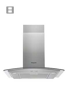 hotpoint-phgc75fabx-70cm-cooker-hood-inox-stainless-steel