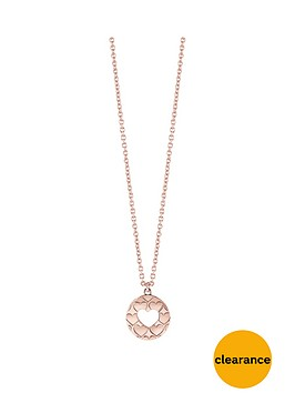 guess-guess-rose-gold-plated-heart-cutout-necklace