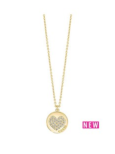guess-guess-gold-plated-crystal-heart-coin-pendant