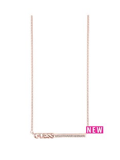 guess-guess-rose-gold-plated-bar-necklace