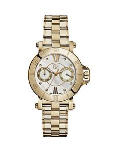 guess-gc-femme-white-mother-of-pearl-dial-brushed-yellow-gold-ladies-watch