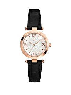 guess-gc-b1-black-leather-strap-ladies-watch