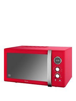 swan-swan-25l-retro-digital-combi-microwave-red