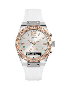 guess-connect-whitenbspsilicone-strap-smartwatch