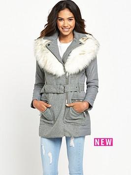 river-island-faux-fur-collar-padded-coat