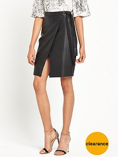 river-island-pu-wrap-pencil-skirt