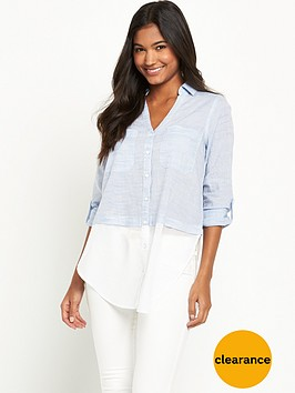 river-island-chambray-longline-shirt
