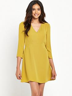 river-island-34-sleeve-swing-dress