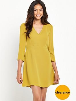 river-island-34-sleeve-swing-dress