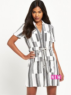 river-island-stripe-shirt-dress